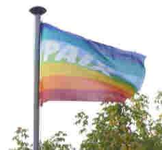 Hissons le drapeau de la paix!