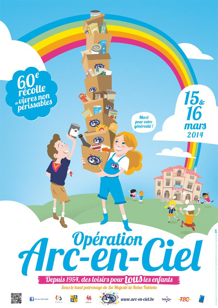 Opération Arc-en-Ciel ces 15 et 16 mars 2014
