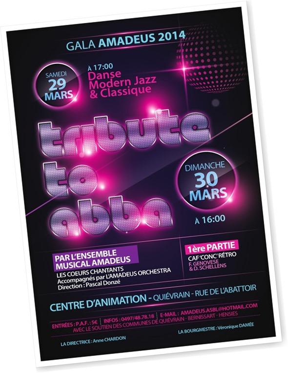 Gala Amadeus le 30 mars 2014
